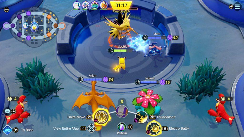 Pokemon Unite Screenshot 2