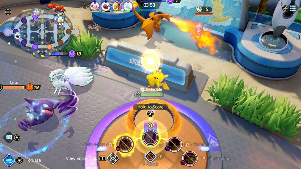 Pokemon Unite Screenshot 3