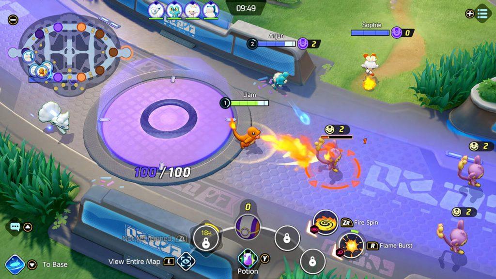 Pokemon Unite Screenshot 4