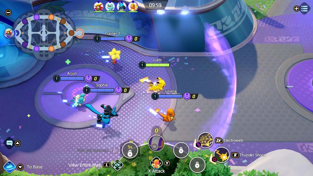Pokemon Unite Screenshot 5