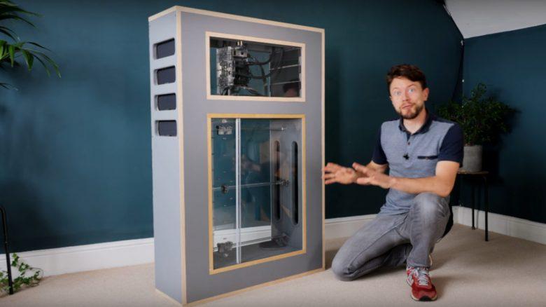 YouTuber baut leisen Gaming-PC mit Magnetkühlung, ohne Lüfter – Funktioniert wie eine Lunge