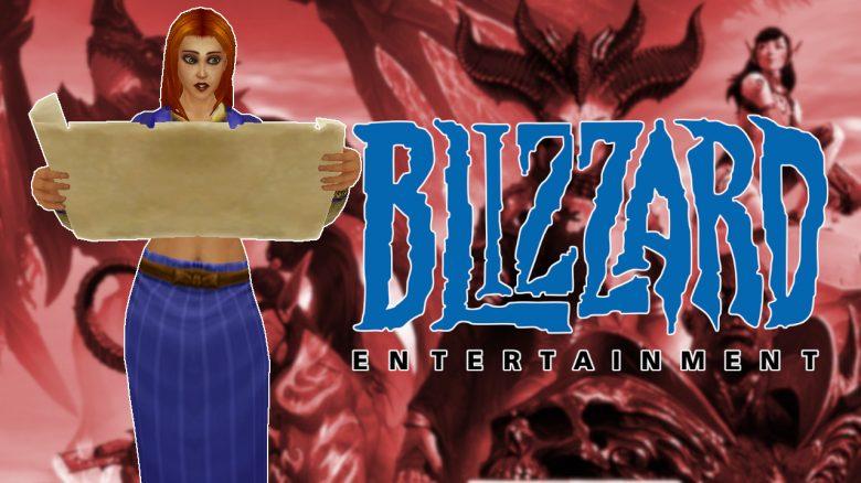 WoW Blizzard reading human titel title 1280x720