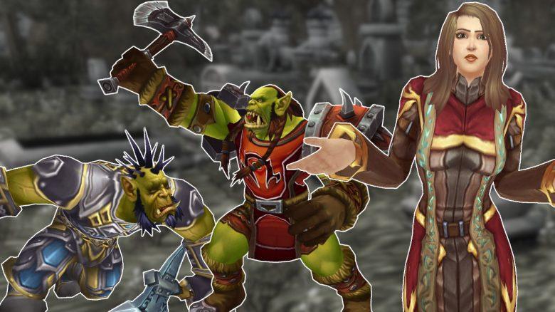 WoW Classic Orc battling human asking titel title 1280x720