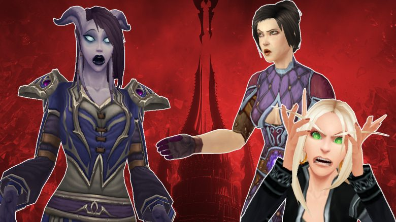 WoW Draenei shock angry people titel title 1280x720