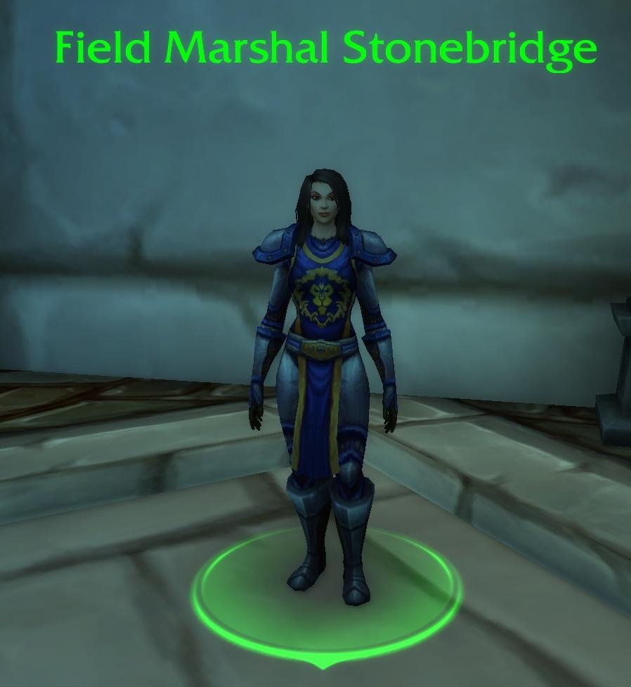 WoW Field Marshal Stonebridge