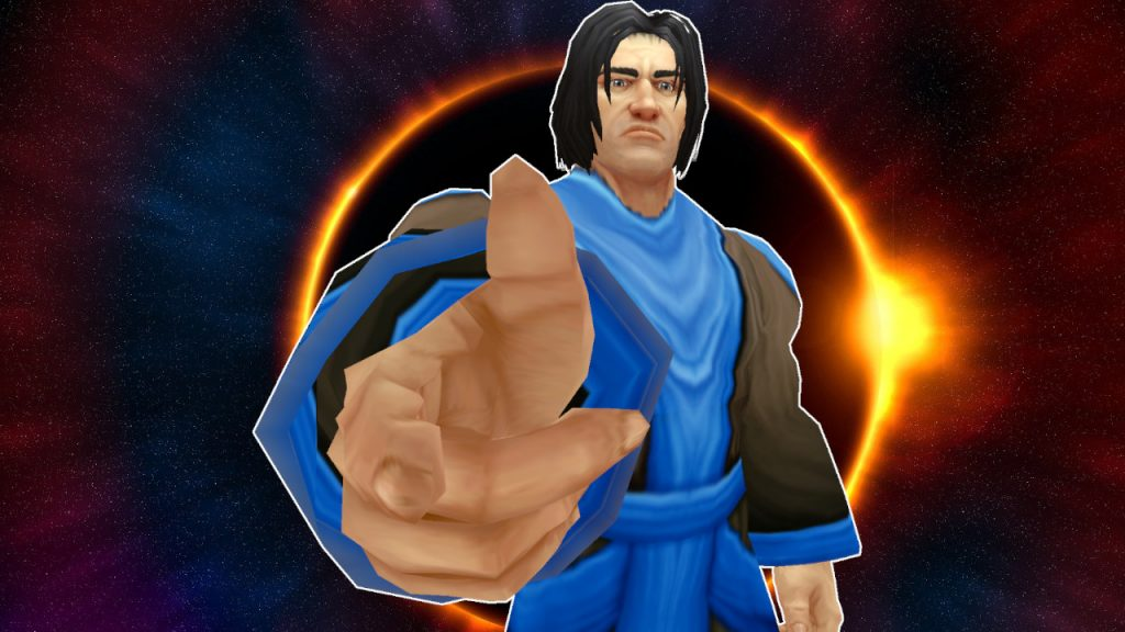 WoW Game Master Pointing at screen titel title 1280x720