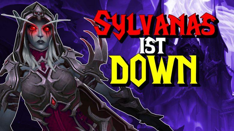 WoW Sylvanas ist down titel title 1280x720