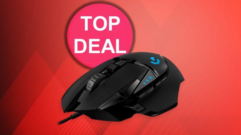 Starke Gaming-Maus von Logitech aktuell günstig im Angebot bei Amazon