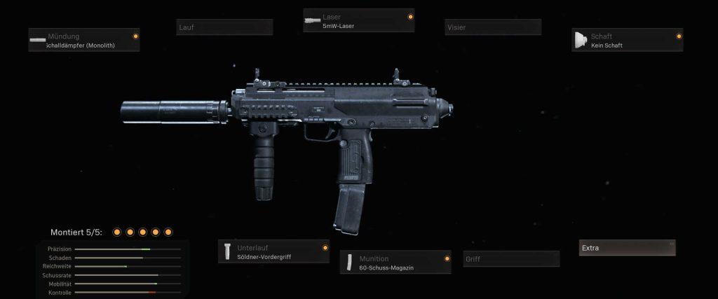 cod warzone beste mp liste mp7 setup