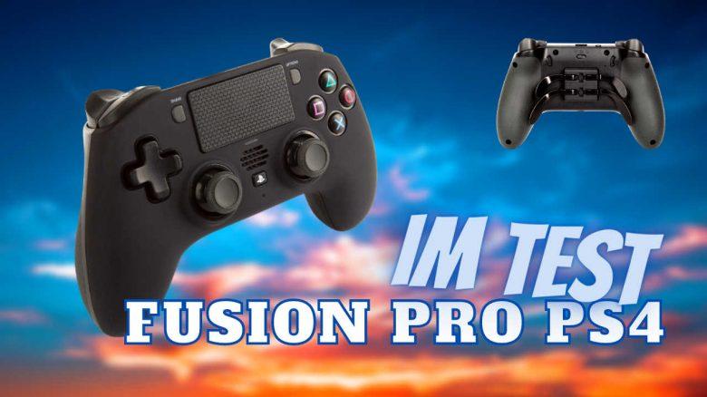 FUSION Pro Wireless Controller für PS4 im Test – Für wen lohnt sich der 130€-Controller?