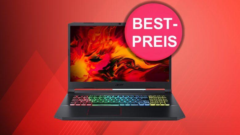 Acer Gaming-Laptop mit RTX 3060 dank eBay-Gutschein zum Tiefstpreis