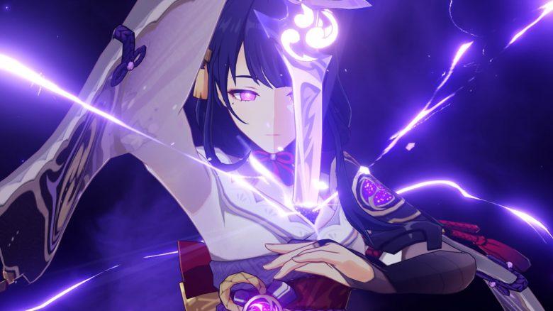 genshin impact raiden shogun skills header