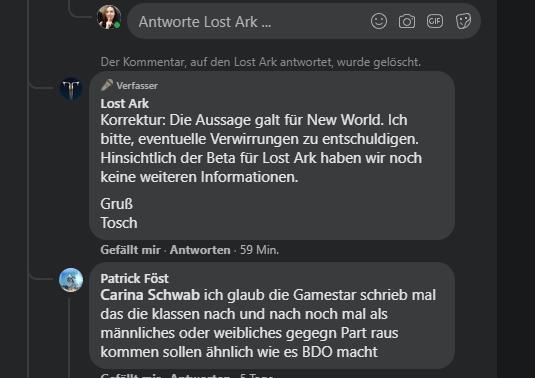 lost ark korrektur beta