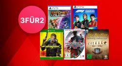 MediaMarkt 3-für-2-Aktion: Spiele für PC, PS5, PS4 & Xbox im Angebot