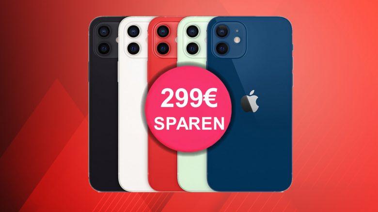 MediaMarkt: Apple iPhone 12 mini mit 60 GB LTE & Flatrate aktuell günstig