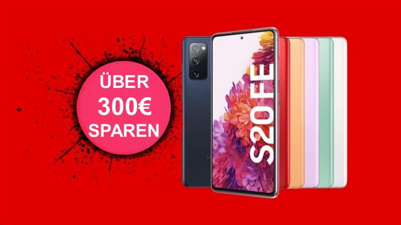Galaxy S20 FE mit Telekom-Tarif aktuell günstiger als ohne bei MediaMarkt