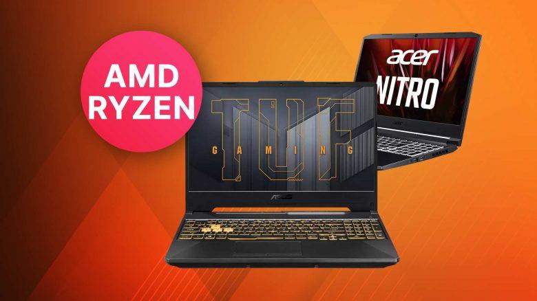 Top Gaming-Notebooks mit AMD CPU & RTX 3000 Grafikkarte bei Saturn kaufen