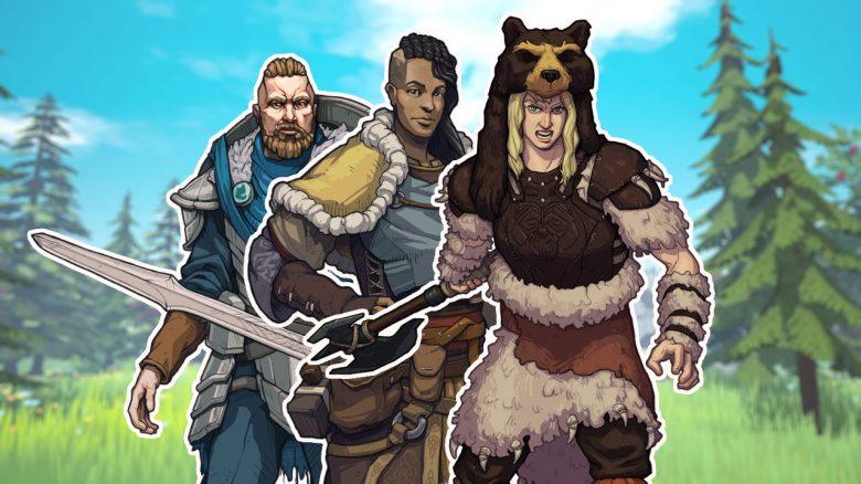 Alle 8 Klassen zum Start von Tribes of Midgard und was sie können