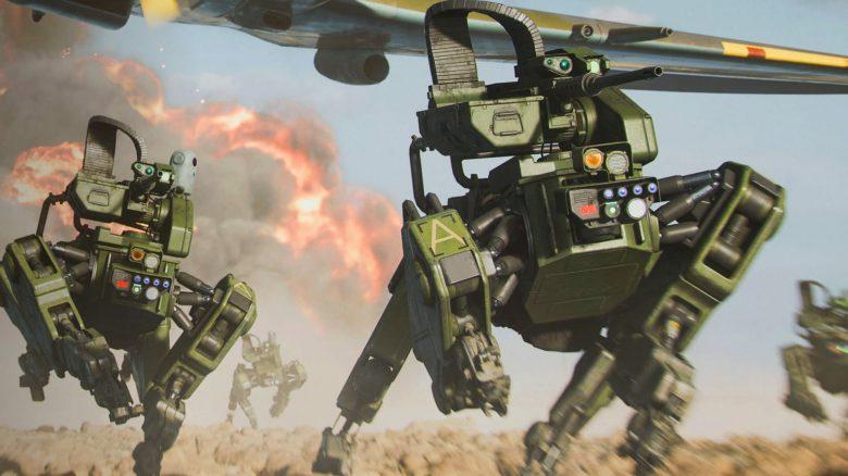 Battlefield 2042 Roboter Flugzeug Titel