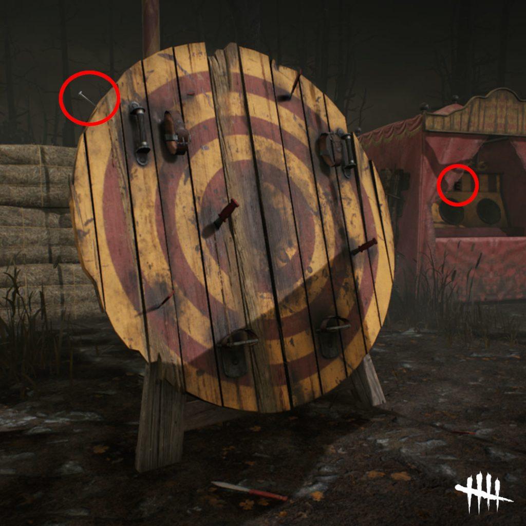 Dead by Daylight Bullseye Pinhead Clue