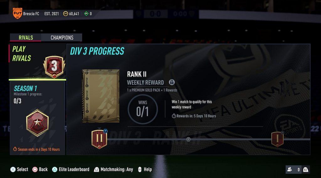 Division Rivals FIFA 22