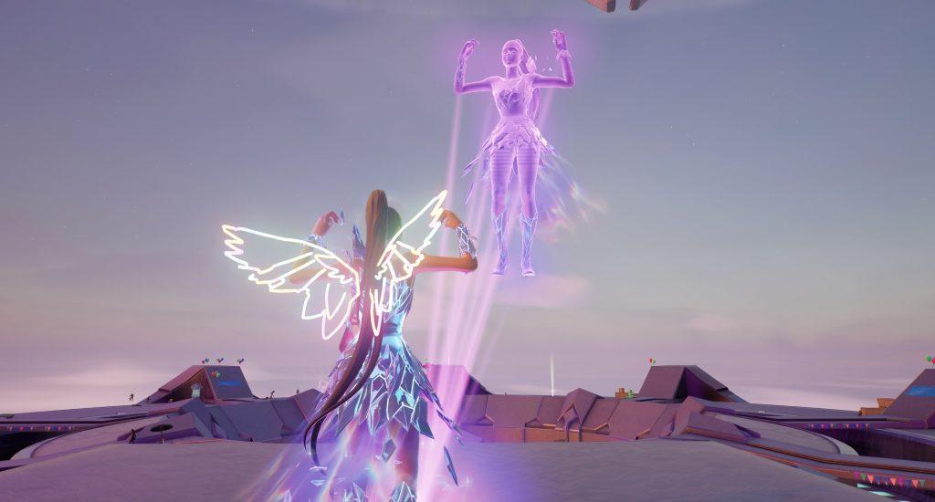 Fortnite-Ariana-Grande-Konzert-Hologramm