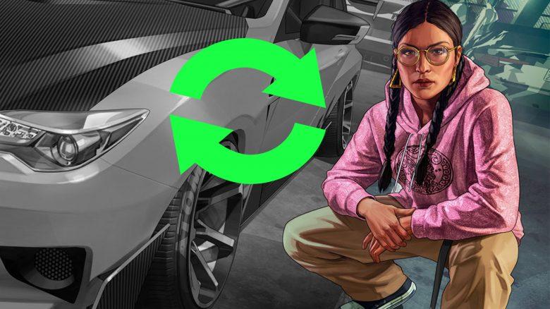 GTA Online Car Meet Kreis Titel