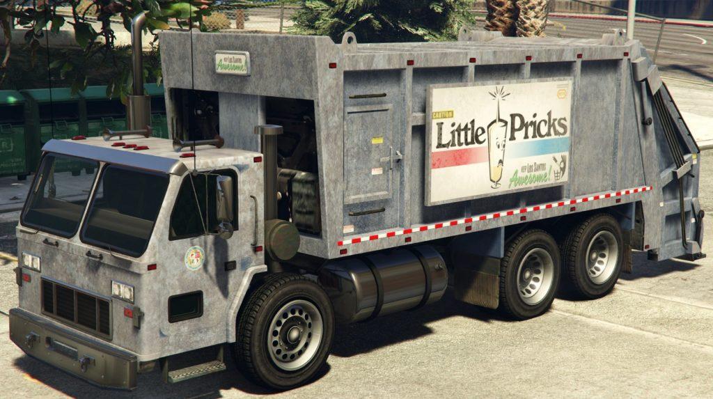 GTA Online Müllwagen