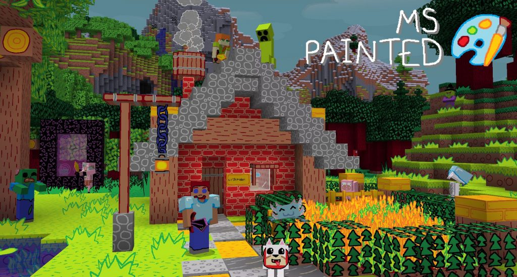 Minecraft MS Painted Texture Pack 2