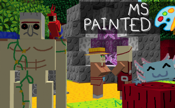 Minecraft MS Painted Texture Pack