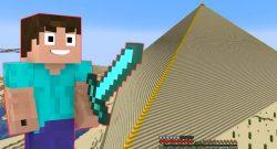 Hardcore-Spieler baut in Minecraft Pyramide aus über 125.000 Blöcken