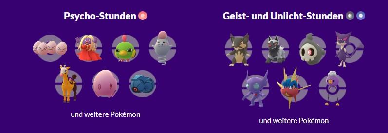 Pokémon GO Hoopa Rauch Event