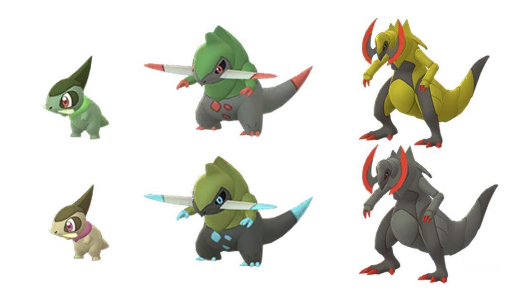 Pokémon-GO-Milza-Shiny-Familie
