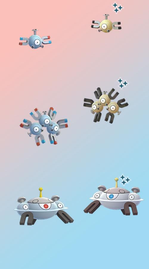 Pokémon GO Shiny Magnetilo