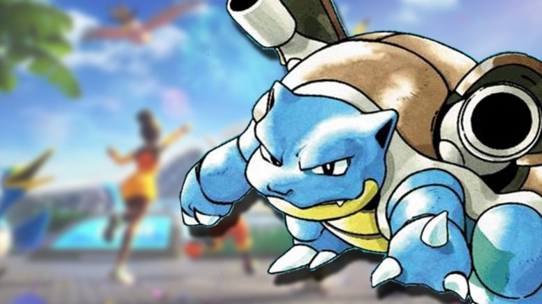 Pokemon Unite Blastoise Release date Header