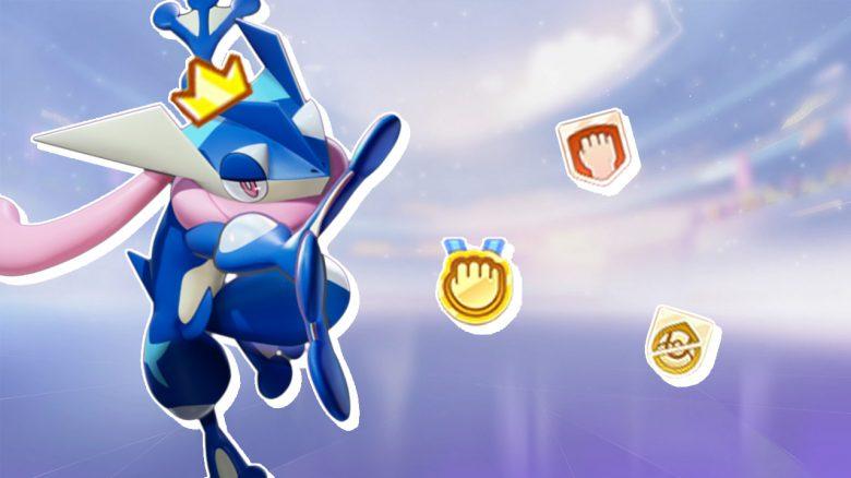 Pokémon Unite Greninja Medal Header