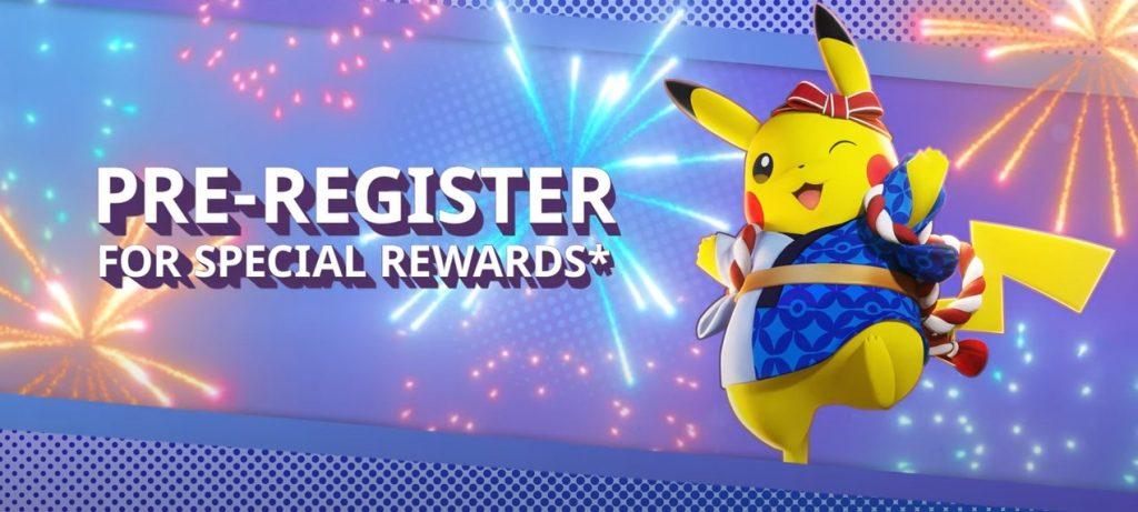 Pokémon Unite Registrieren