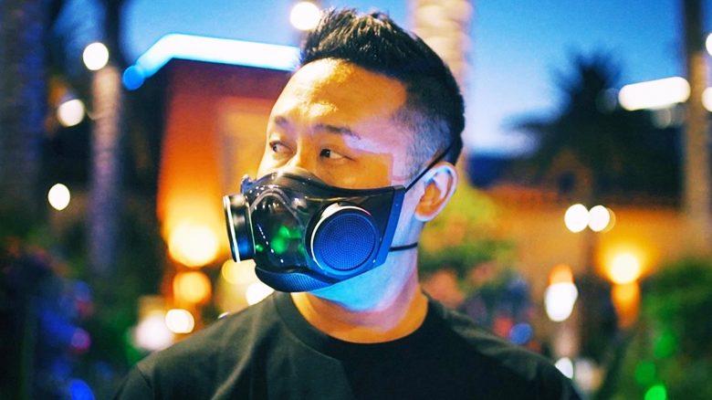 Ja, sogar die bunte Gesichtsmaske von Razer bekommt eine Beta – So macht ihr mit