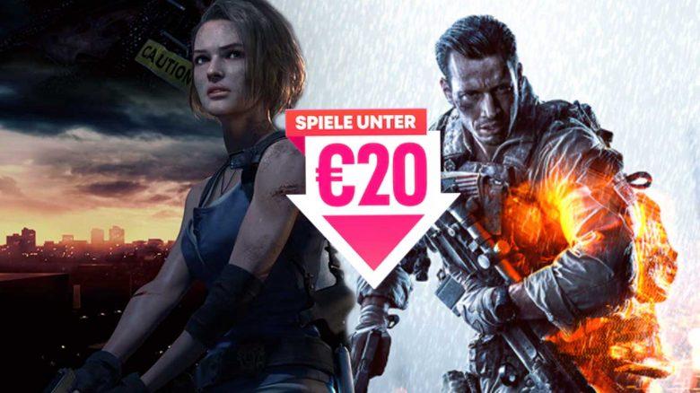 Im PS Store gibt's jetzt im August einige Top-Games für unter 20 €