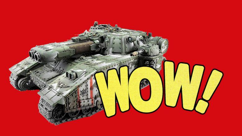 Verrückter Gaming-PC: Bastler baut Warhammer-Panzer in PC-Gehäuse um