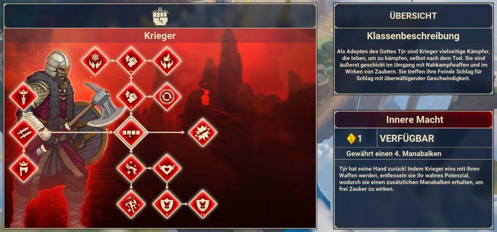 Tribes of Midgard Krieger Skillbaum