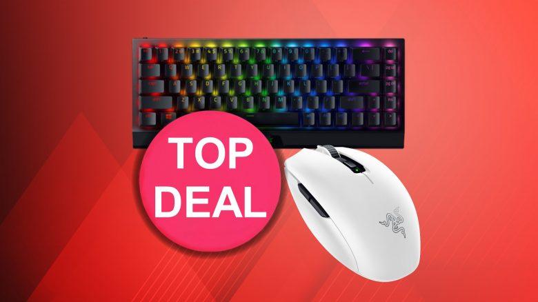 Razer Mini-Tastatur zum Bestpreis und weiße Maus günstig bei Amazon