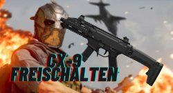cod modern warfare warzone cx-9 freischalten titel