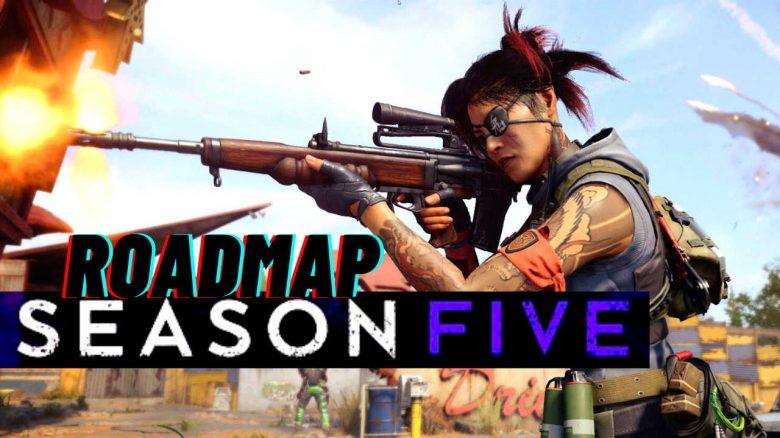 CoD Warzone & Cold War zeigen Roadmap für Season 5 – Neue Waffen, Perks und Event