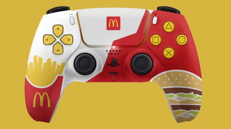 PS5 Dualsense Controller McDonalds Stil IGN