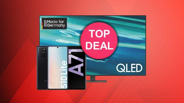 Samsung QLED-TV kaufen & Smartphone dazu erhalten bei Media-Saturn