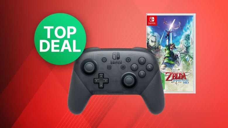 MediaMarkt Angebot: Bundle mit Nintendo Switch Pro-Controller zum Bestpreis