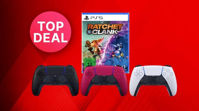 MediaMarkt: PS5 DualSense-Controller mit Ratchet & Clank zum Spitzenpreis