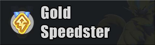 pokemon unite gold speedster
