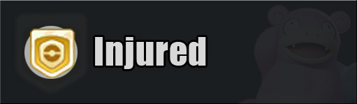 pokemon unite injured